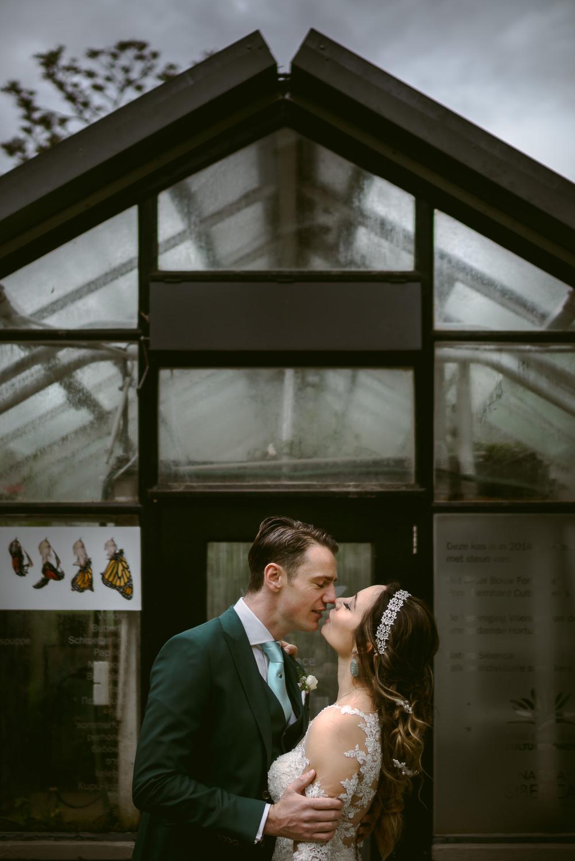 bruidsfotografie amsterdam bruidspaar fotoshoot