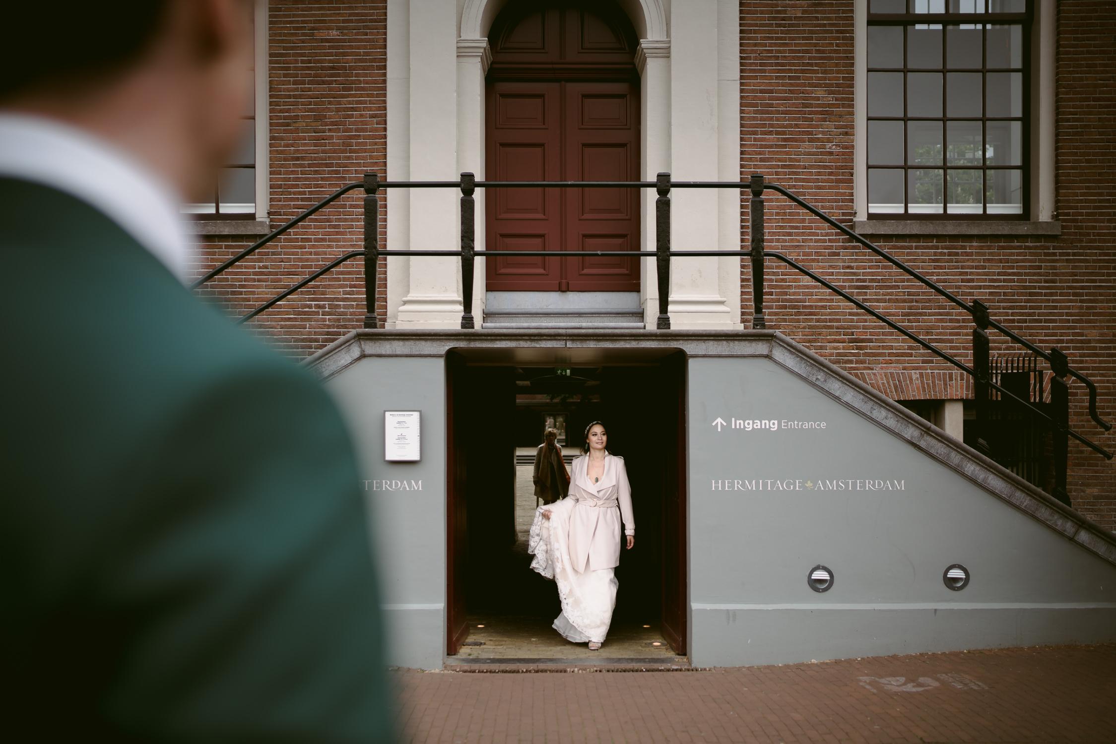 amsterdam wedding photographer amstel hermitage