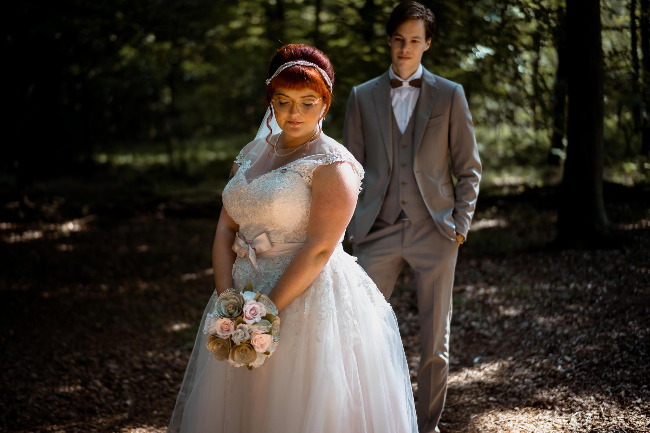 romantisch portret bruidspaar mark hadden bruiloft fotograaf amsterdam utrecht