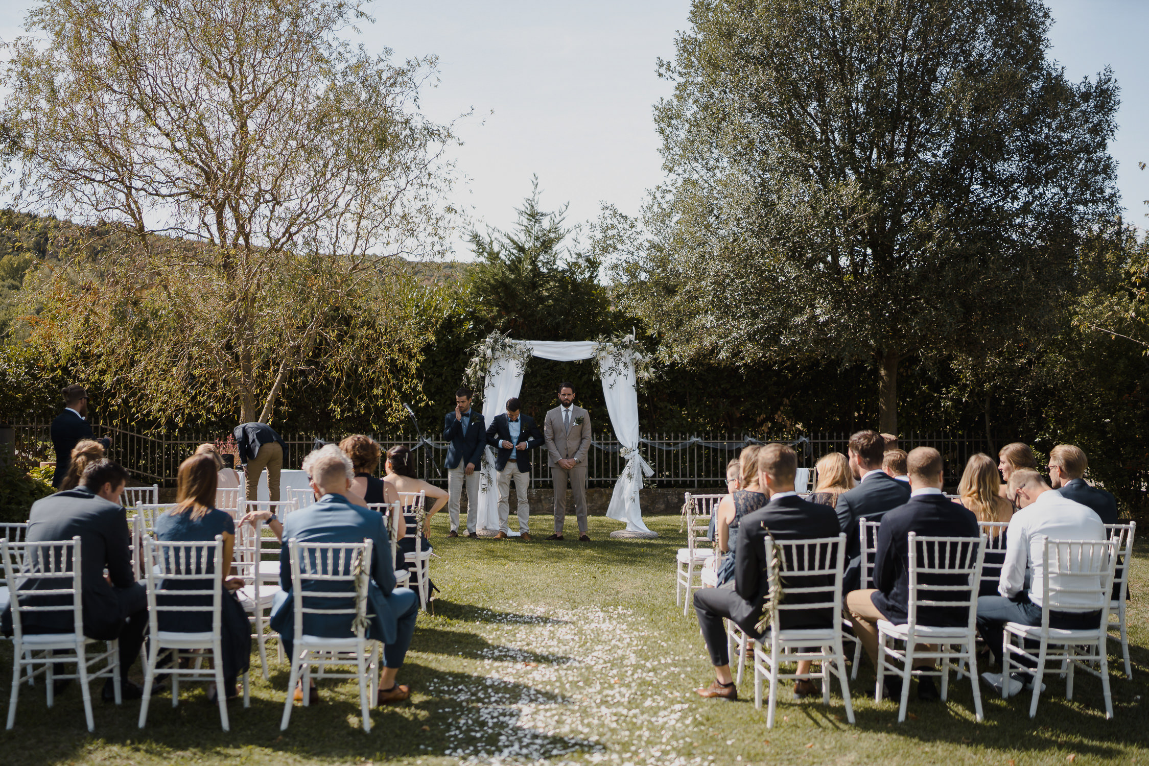 beautiful wedding locations tuscany photography by mark hadden