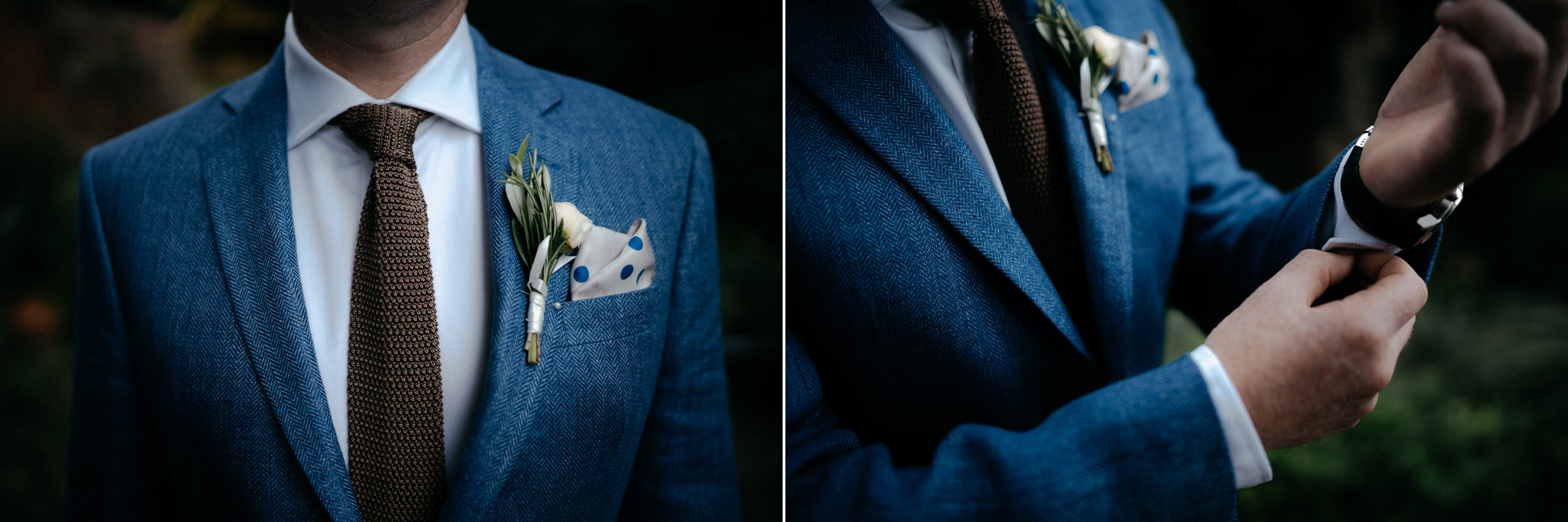 wedding photography london details groom suit
