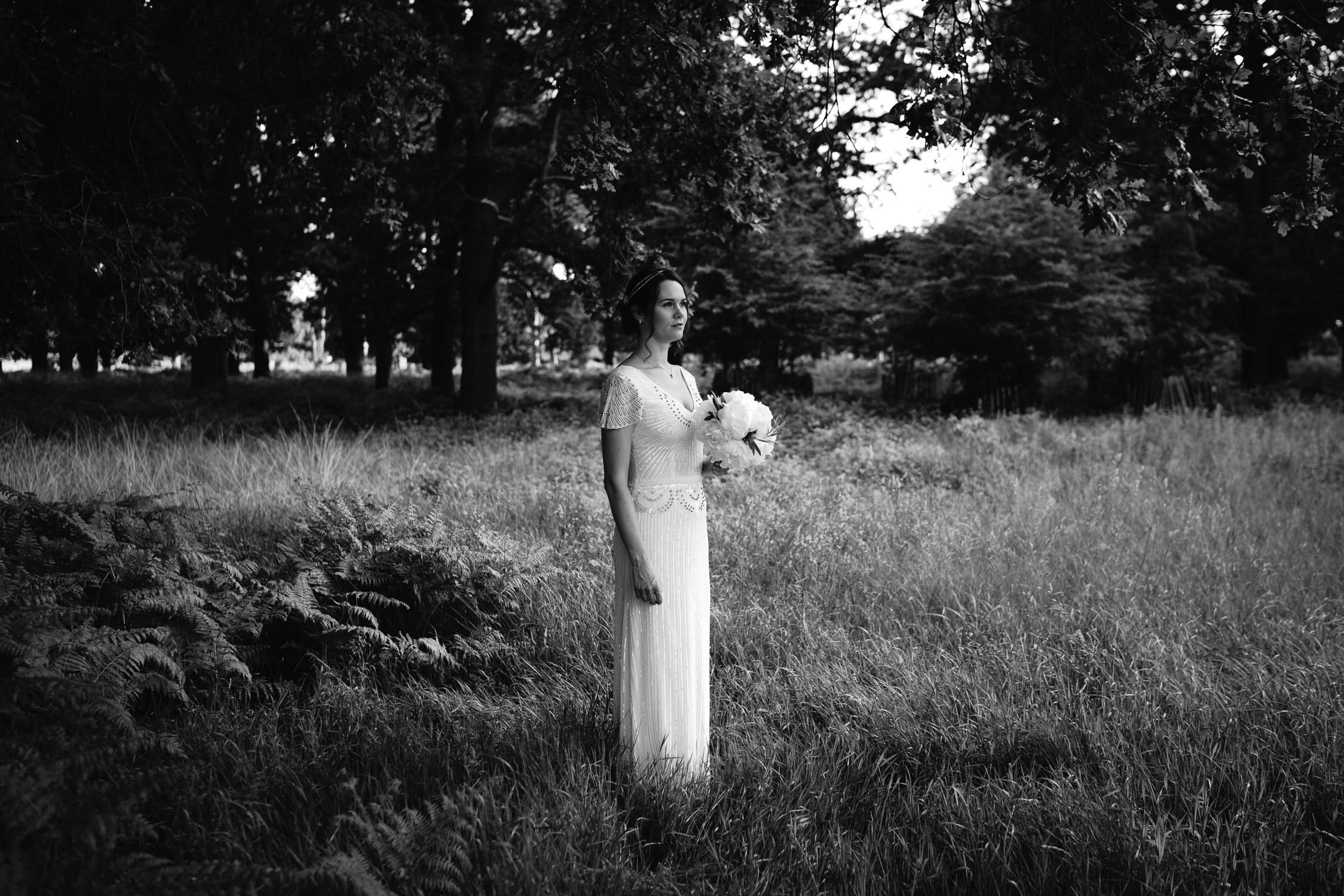 bruidsfotografie amsterdam prachtige bruid portret