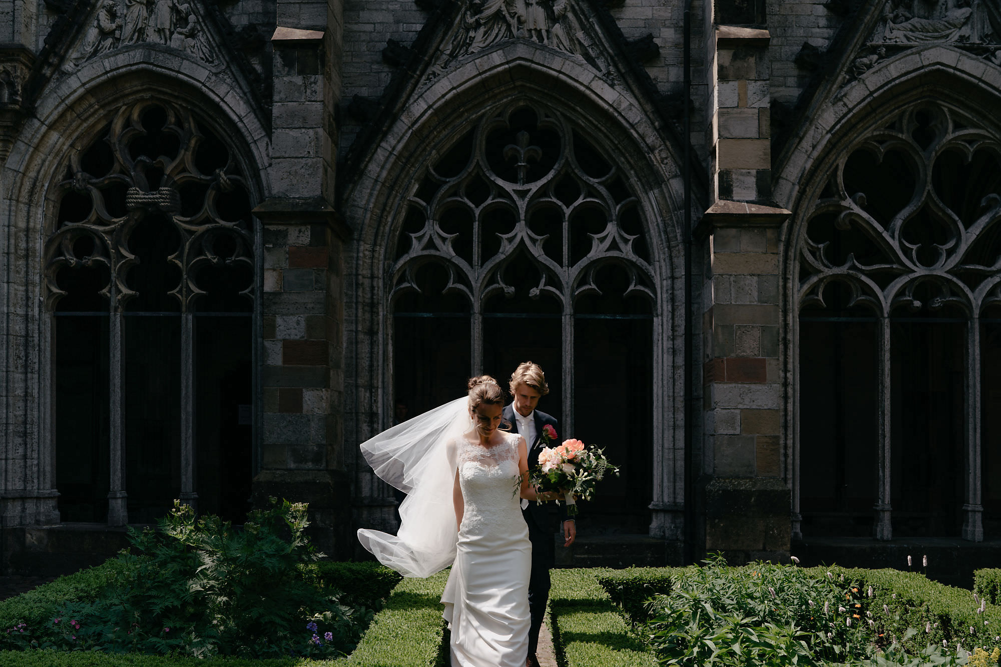 bruidspaar domtoren utrecht bruiloft fotografie utrecht en amsterdam