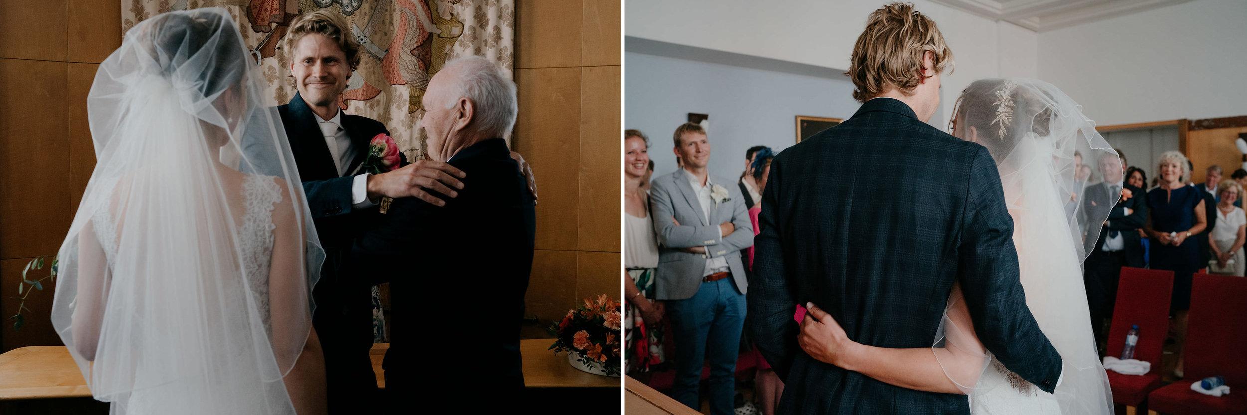 bruiloft fotografie in amsterdam door Mark Hadden