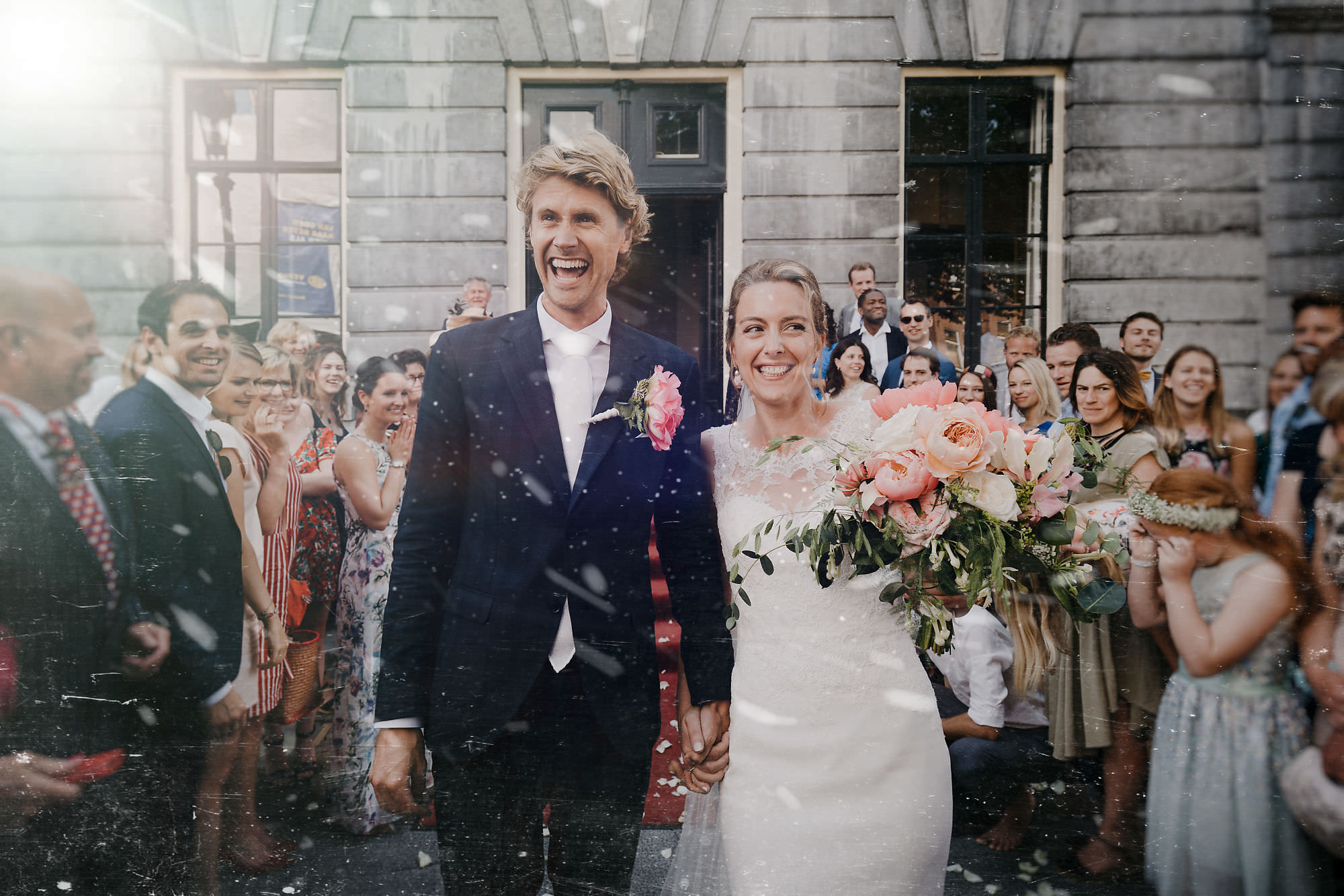 wedding photographer utrecht couple just married