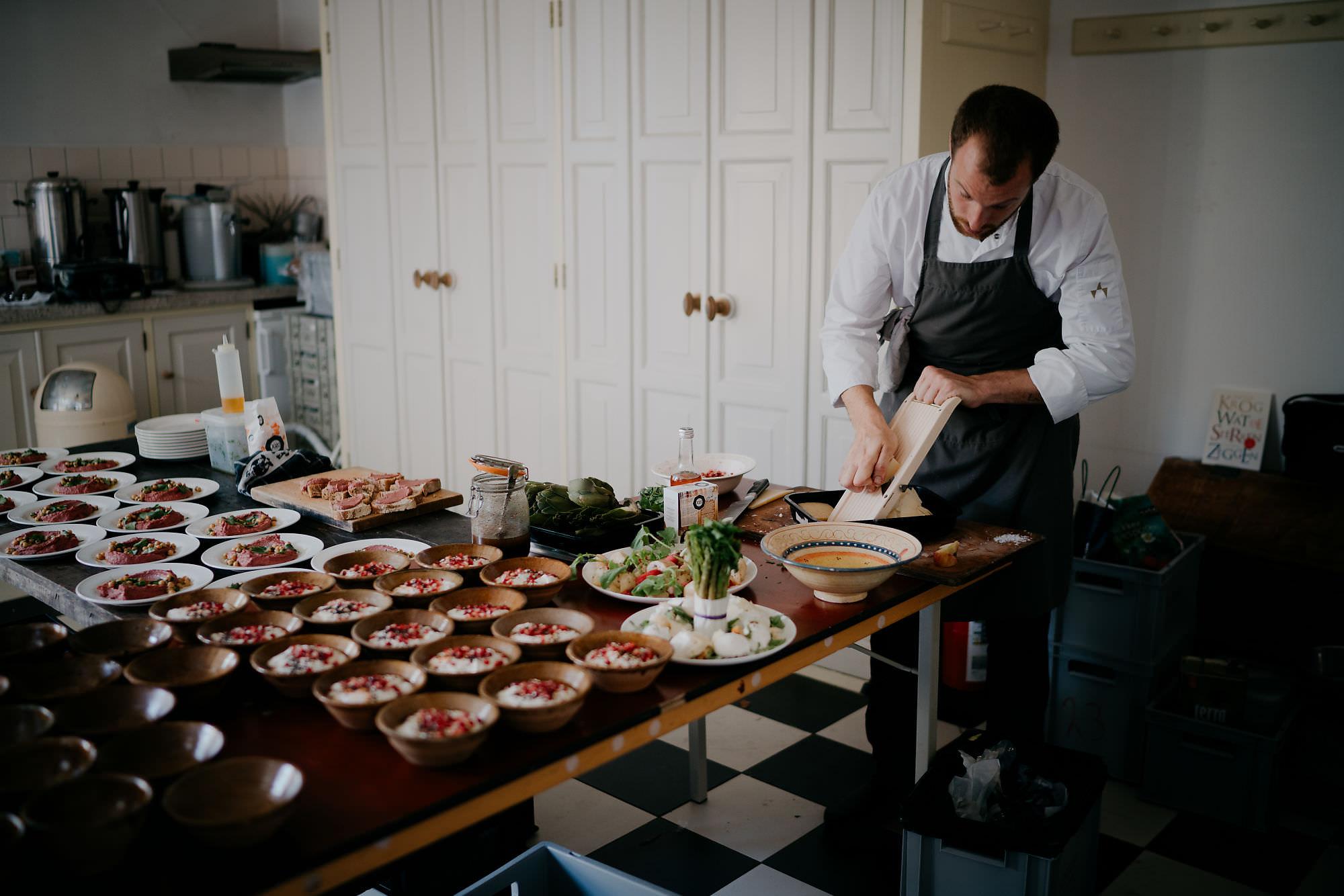 wedding dinner photo by destination wedding photographer mark hadden