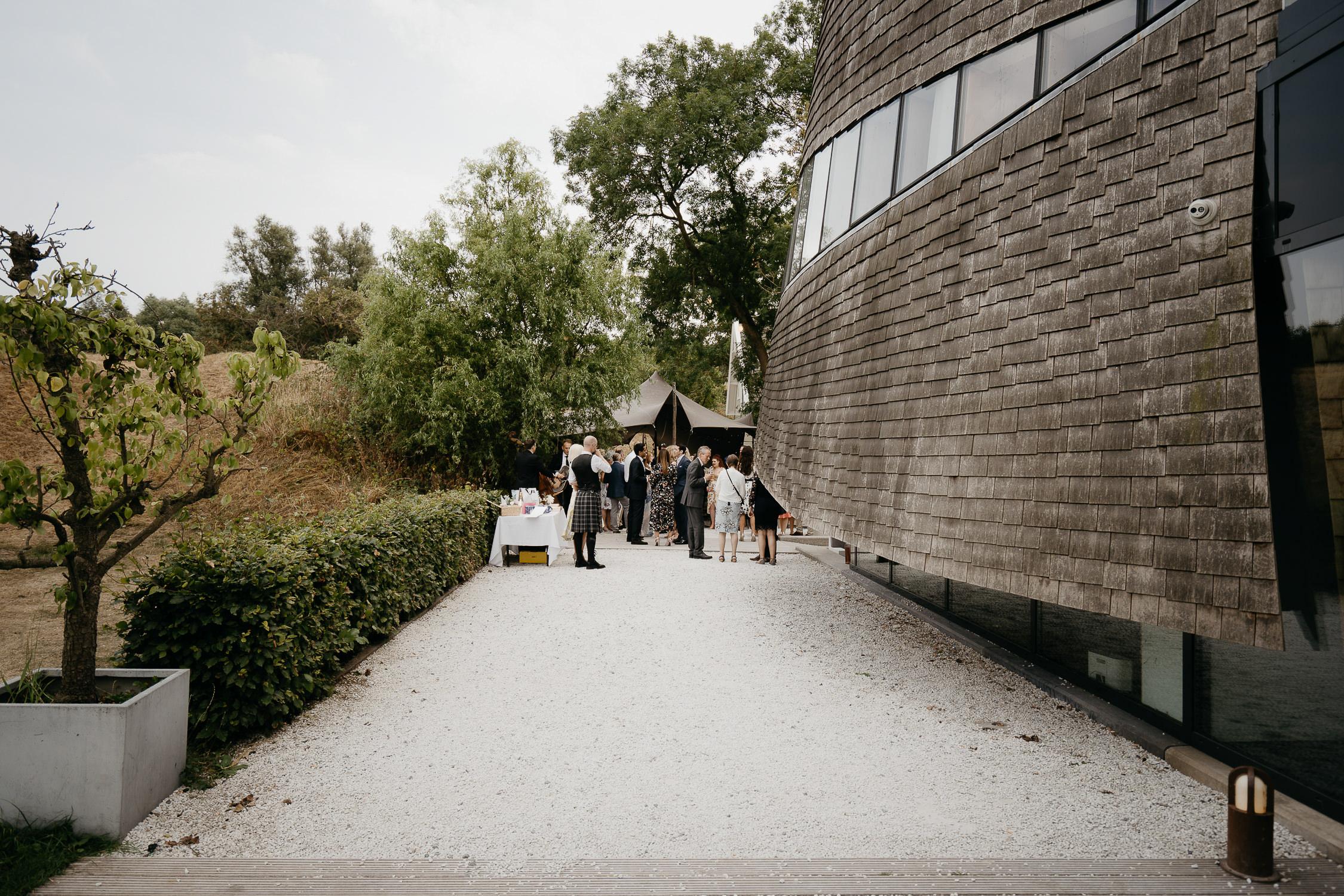 mooie bruiloft locatie  in Nederland fotografie door Mark hadden