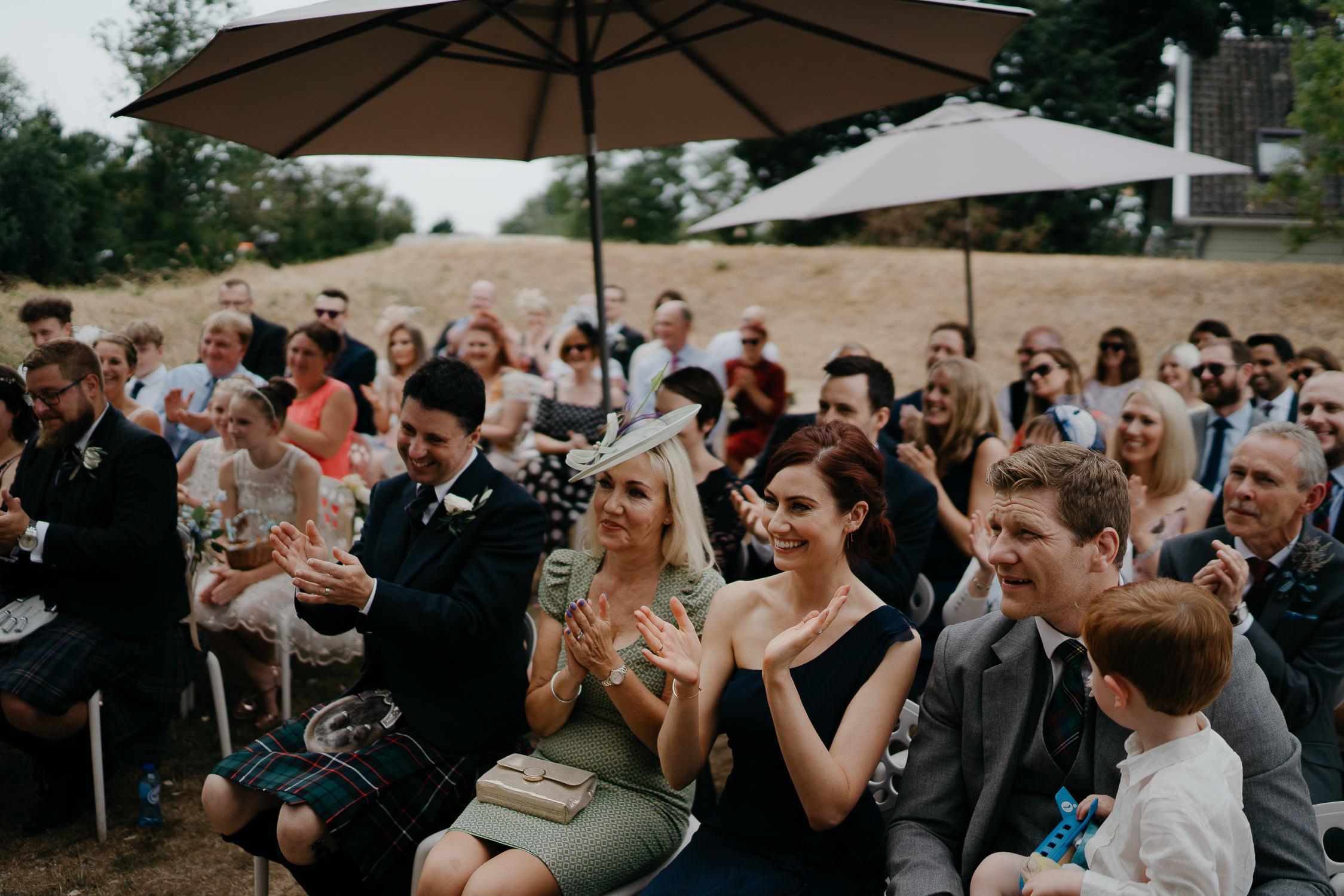 Bijzondere Bruiloft fotoraportage  door Mark Hadden