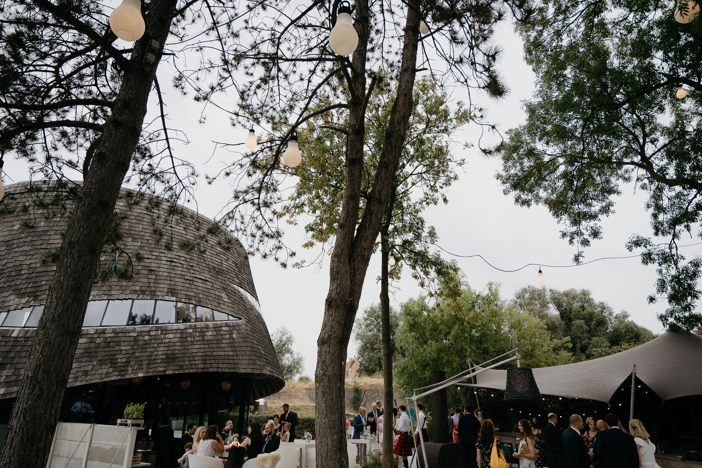Bijzondere bruiloft locatie receptie trouwraportage