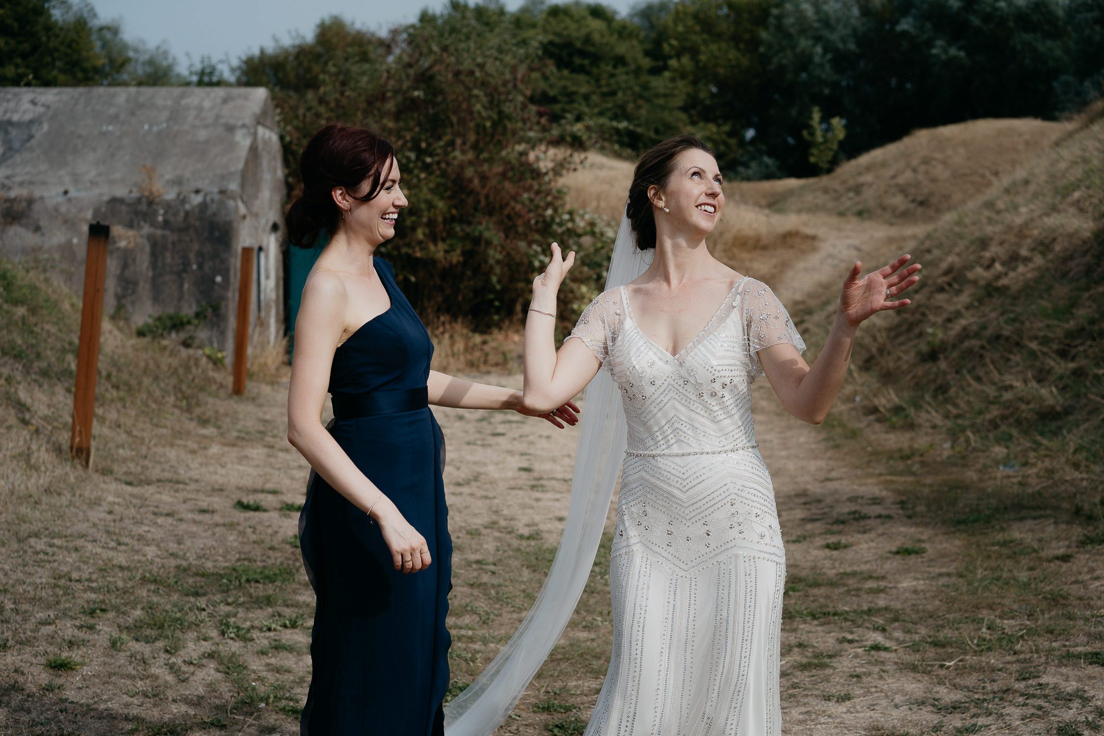Wedding photoshoot by photographer mark hadden
