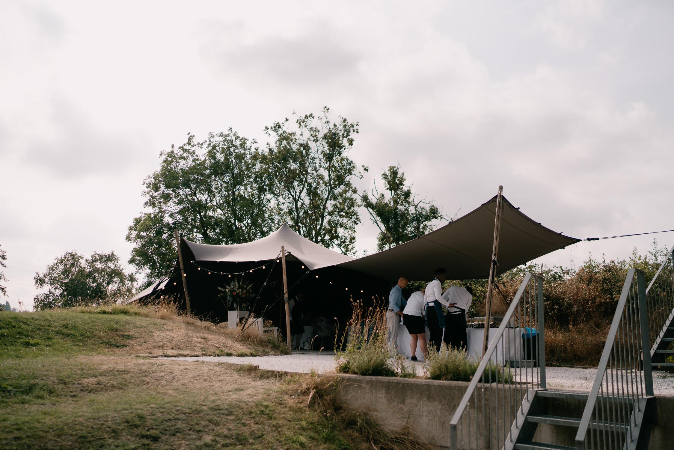 Bijzondere bruiloft locatie trouwraportage
