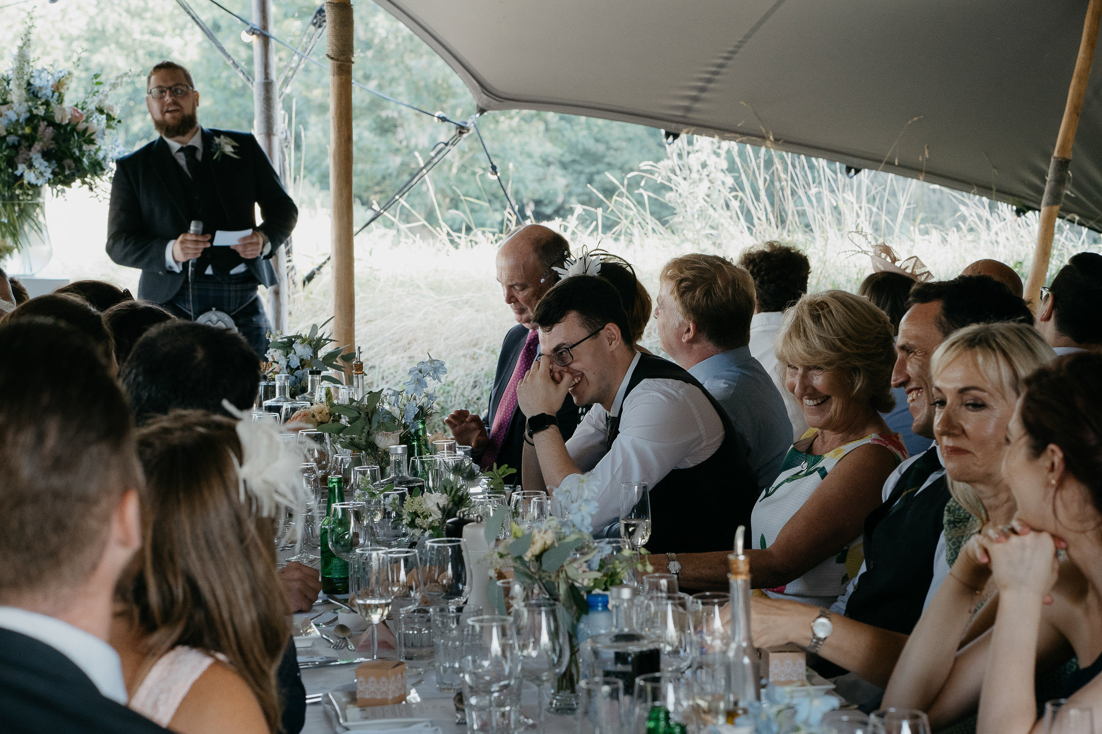 wedding dinner photographer mark hadden