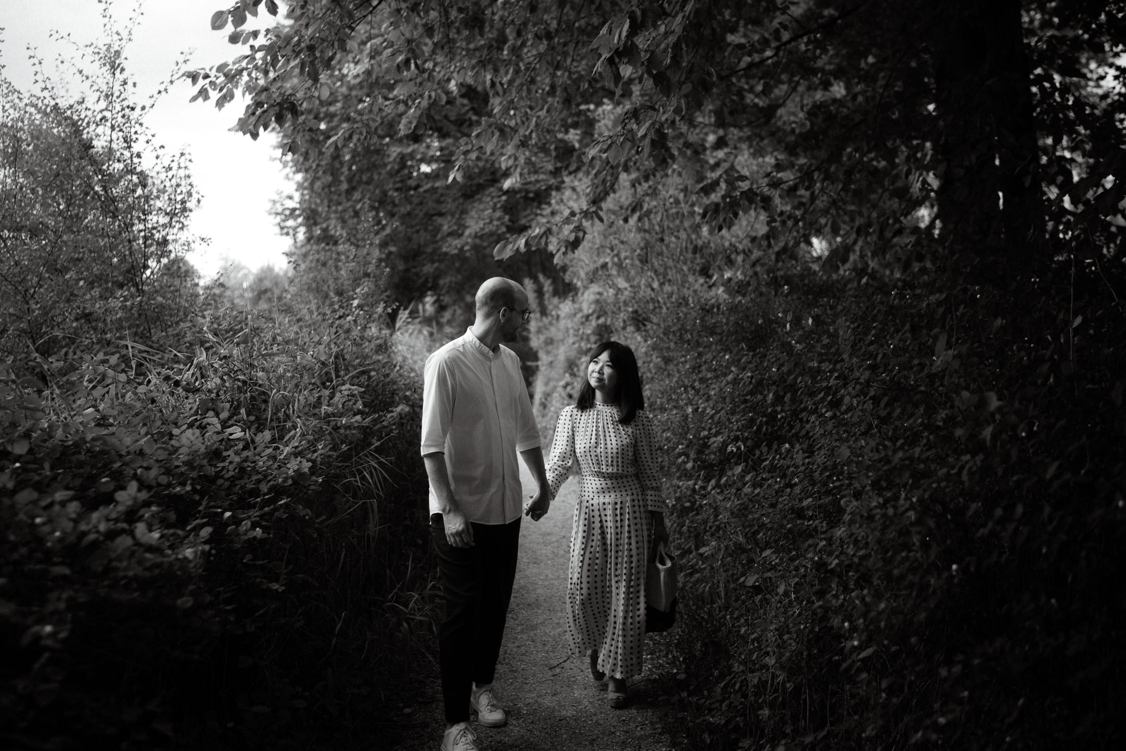 pre wedding shoot park frankendael amsterdam mark hadden