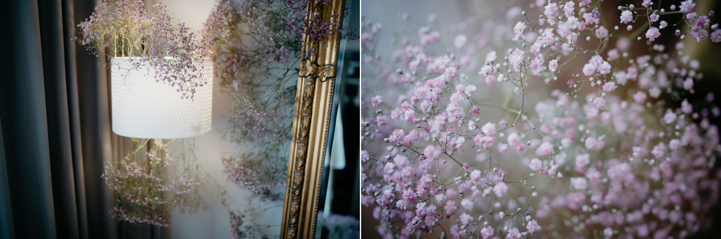 photographs of lovely wedding details flowers