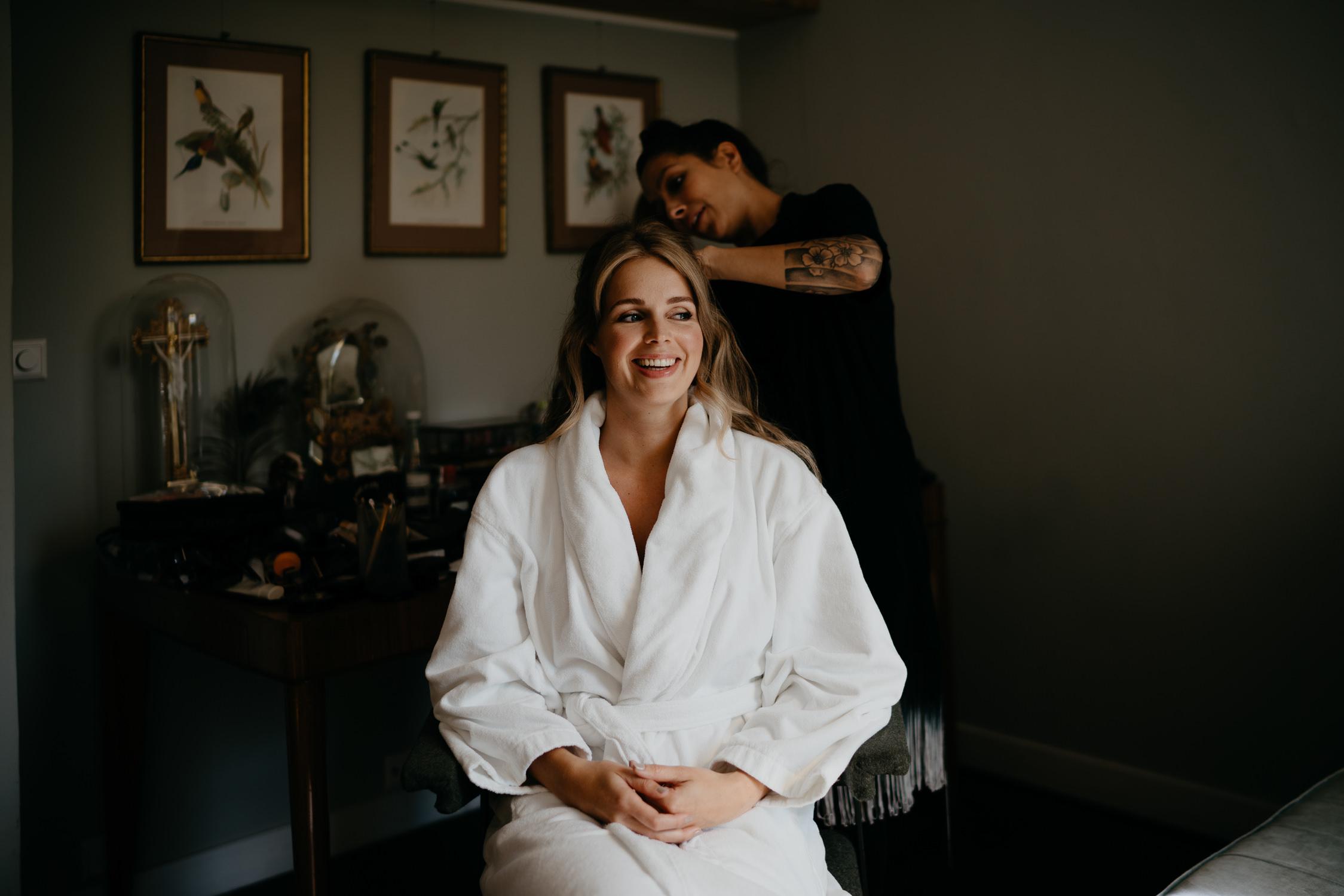 Bridal make up and hair amsterdam, photography mark hadden