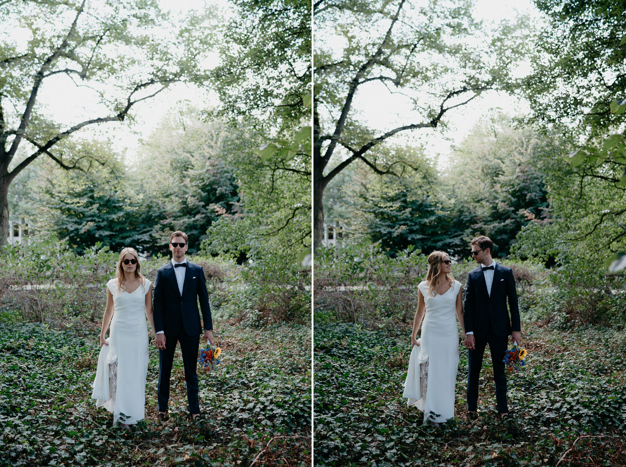 funny creative wedding photo's by mark hadden wedding photography based in amsterdam the netherlands