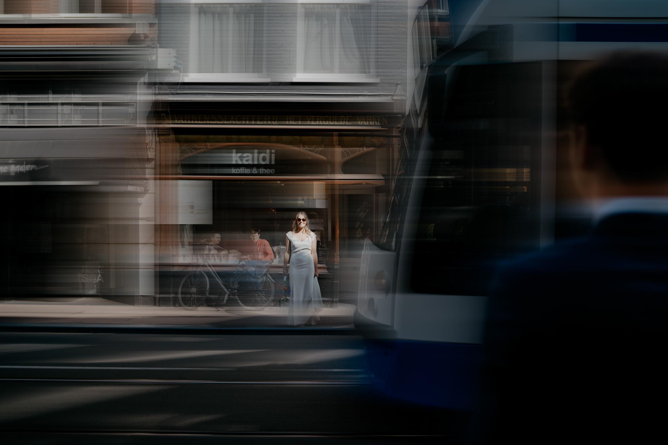 Creatieve trouwfotografie in Amsterdam door Mark hadden