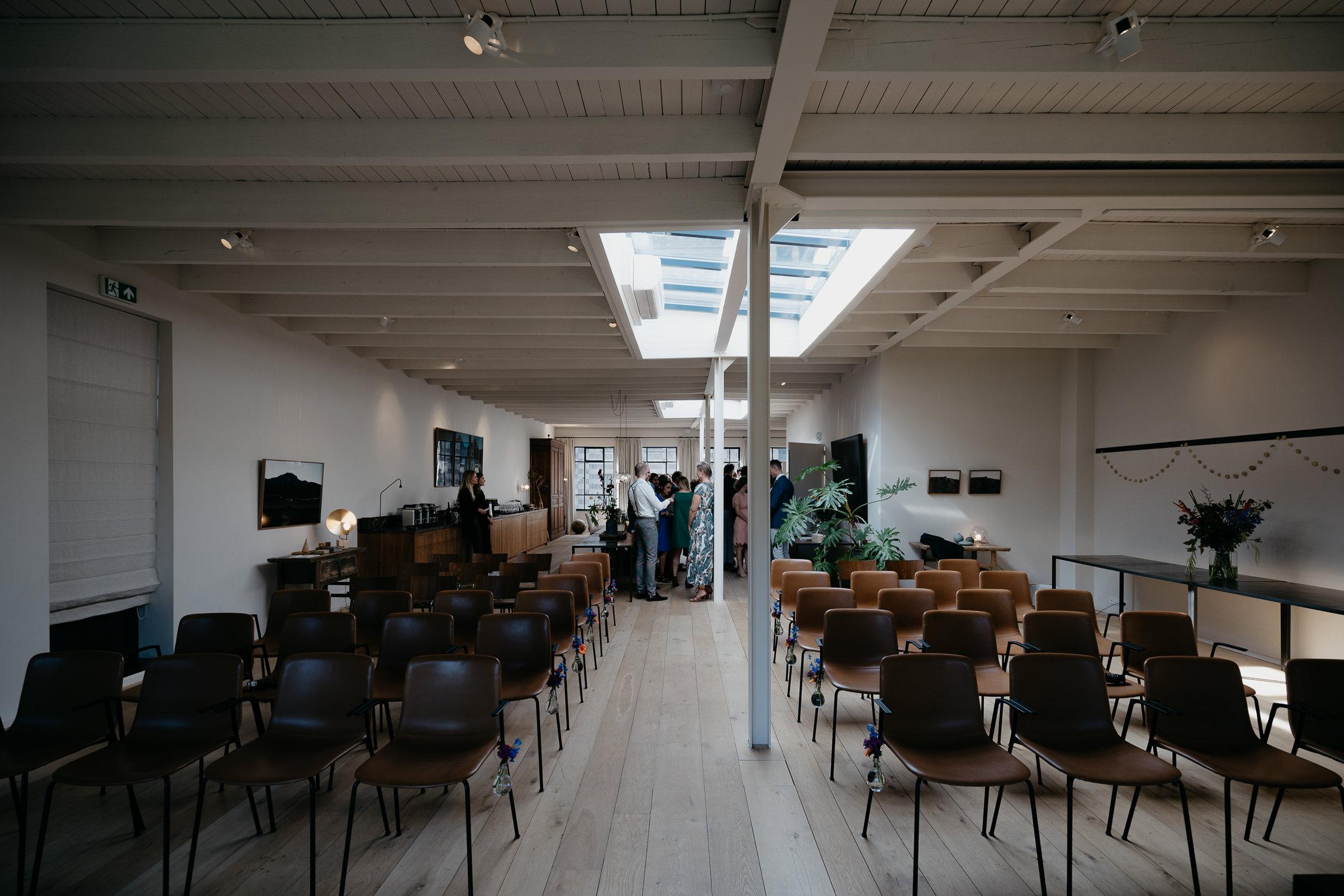 Wedding venue in amsterdam by mark hadden photography