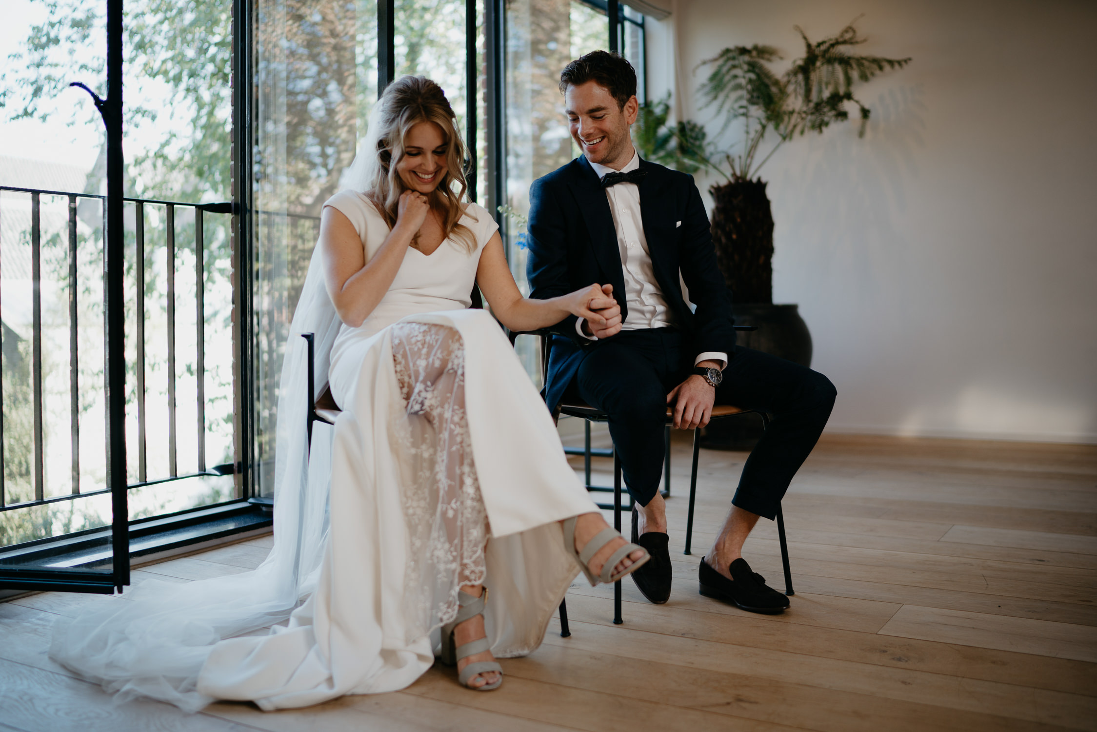Lovely couple getting married in Amsterdam best wedding photographer in amsterdam