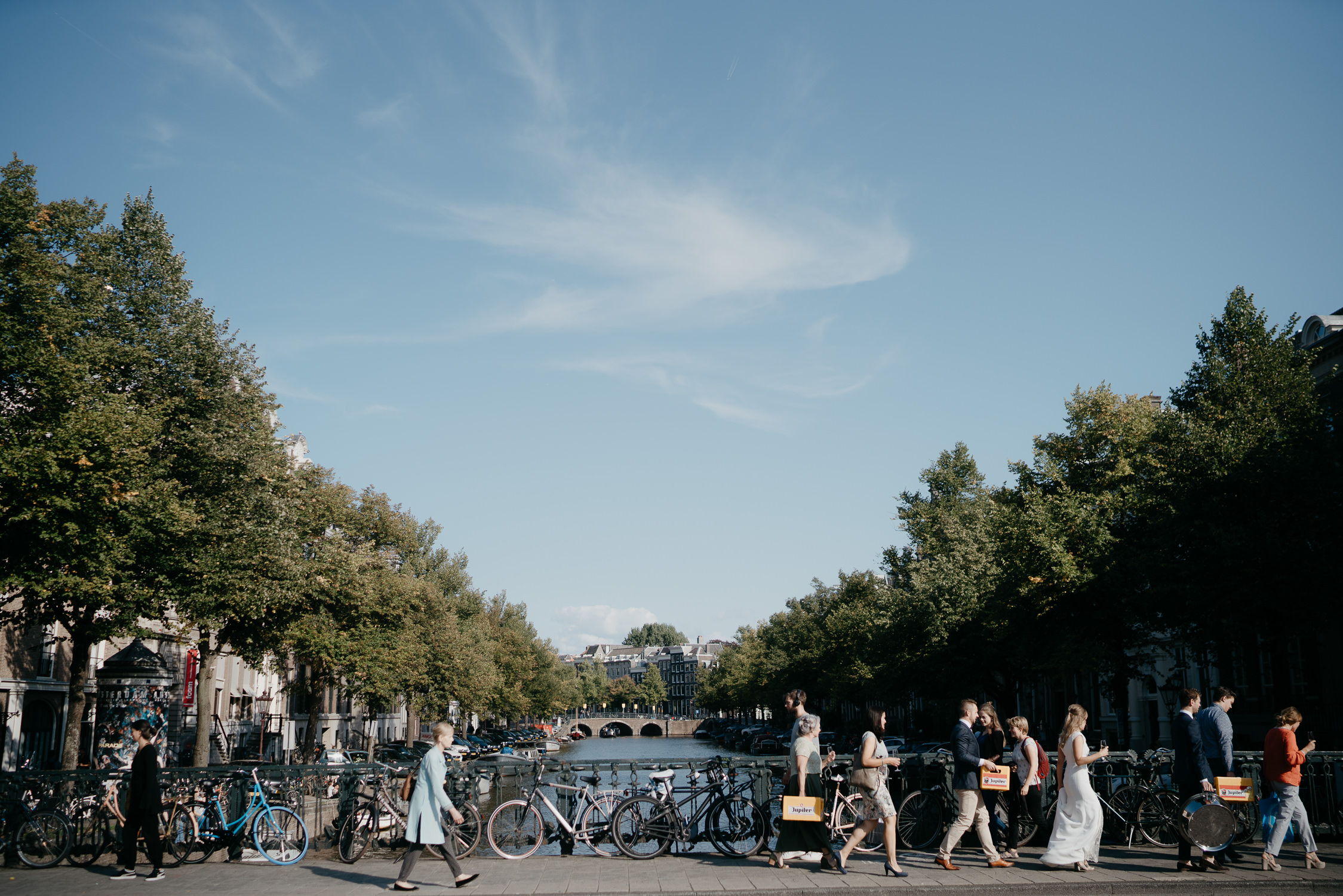 summer weddings in Amsterdam by mark hadden photography