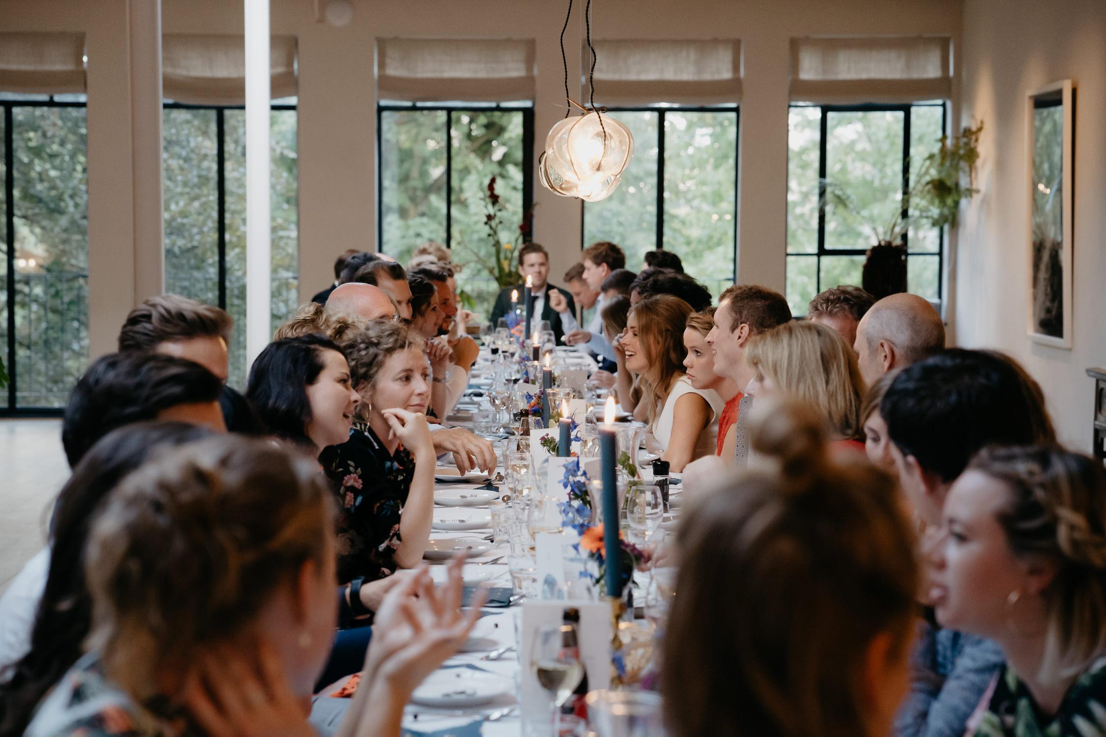 summer amsterdam wedding family dinner photography mark hadden