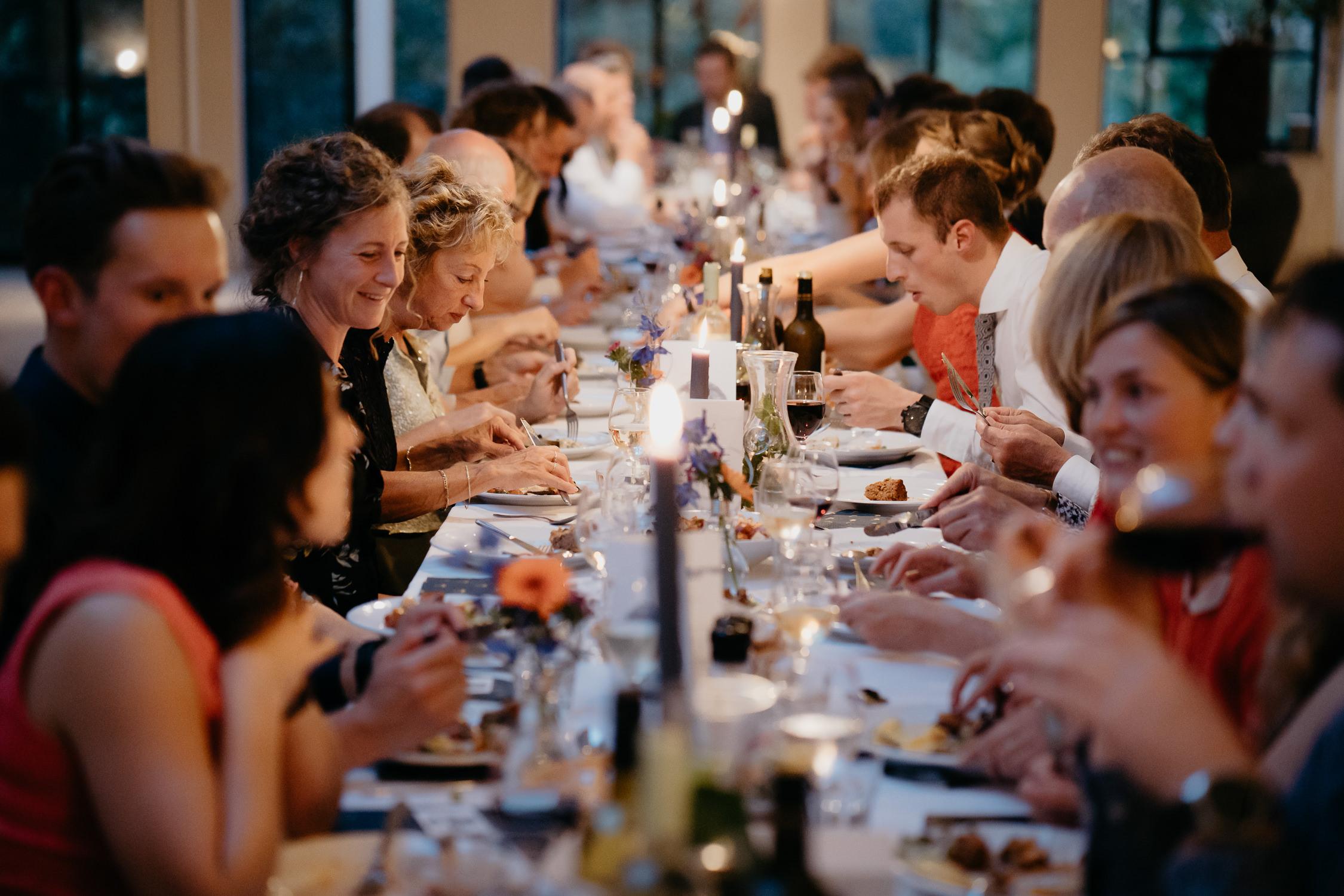 prachtige bruiloft diner amsterdam trouwerij fotografie