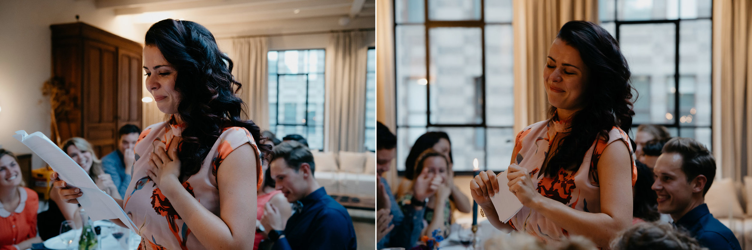 Emotional wedding speech mark hadden photography