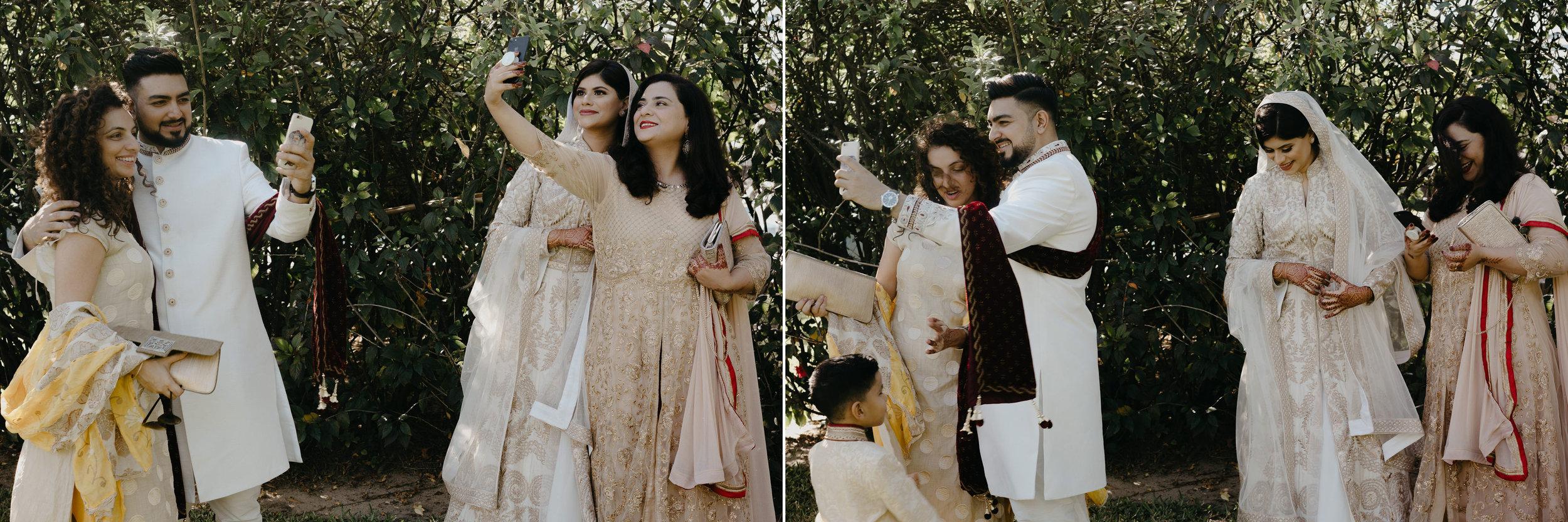 wedding portraits selfies photography indian