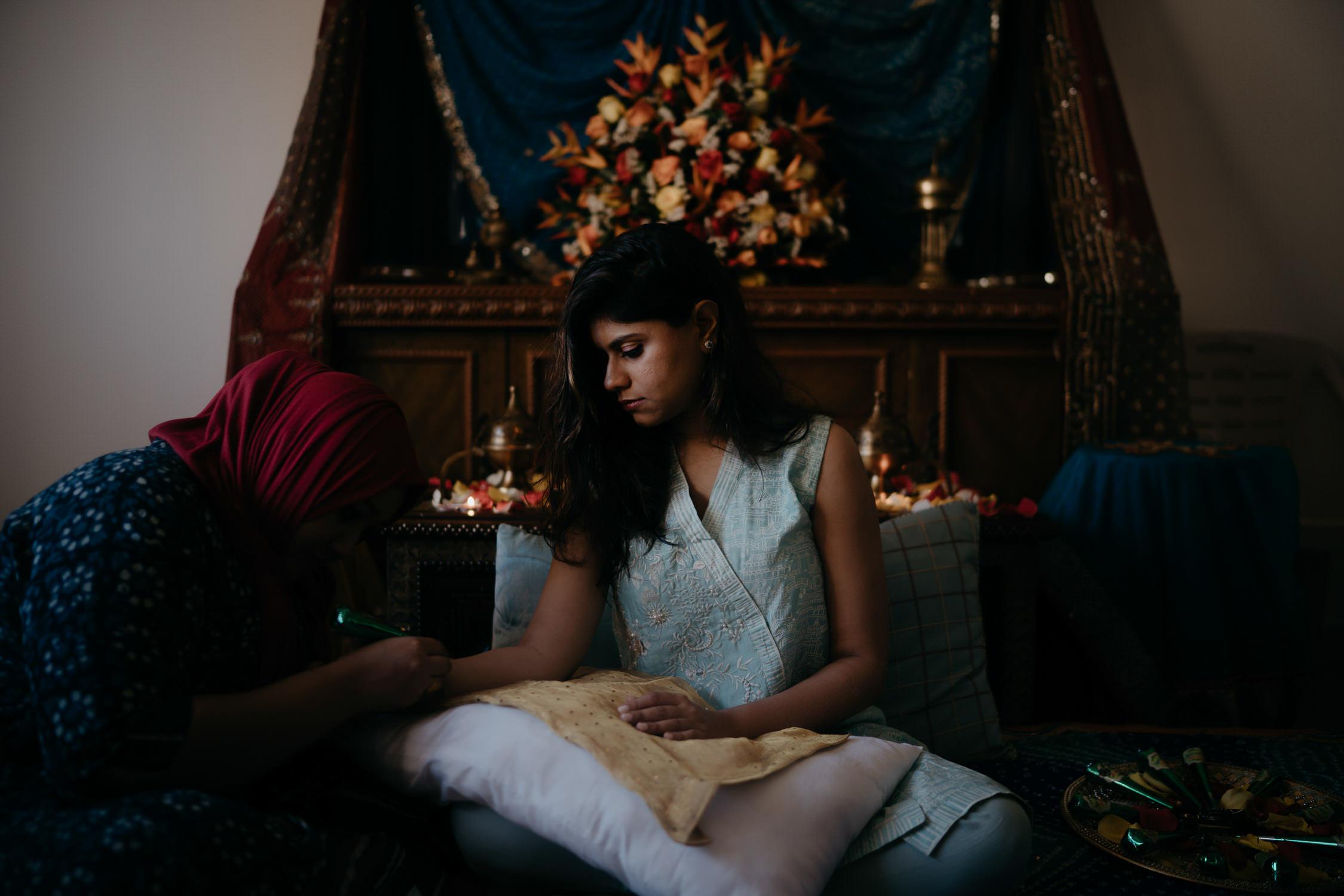 indian wedding ceremony photographer mark hadden