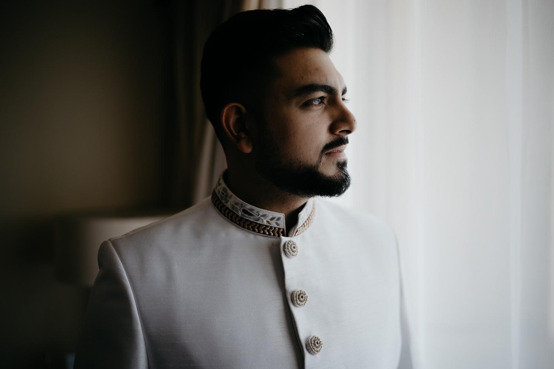 indian wedding portrait groom tanzania photography