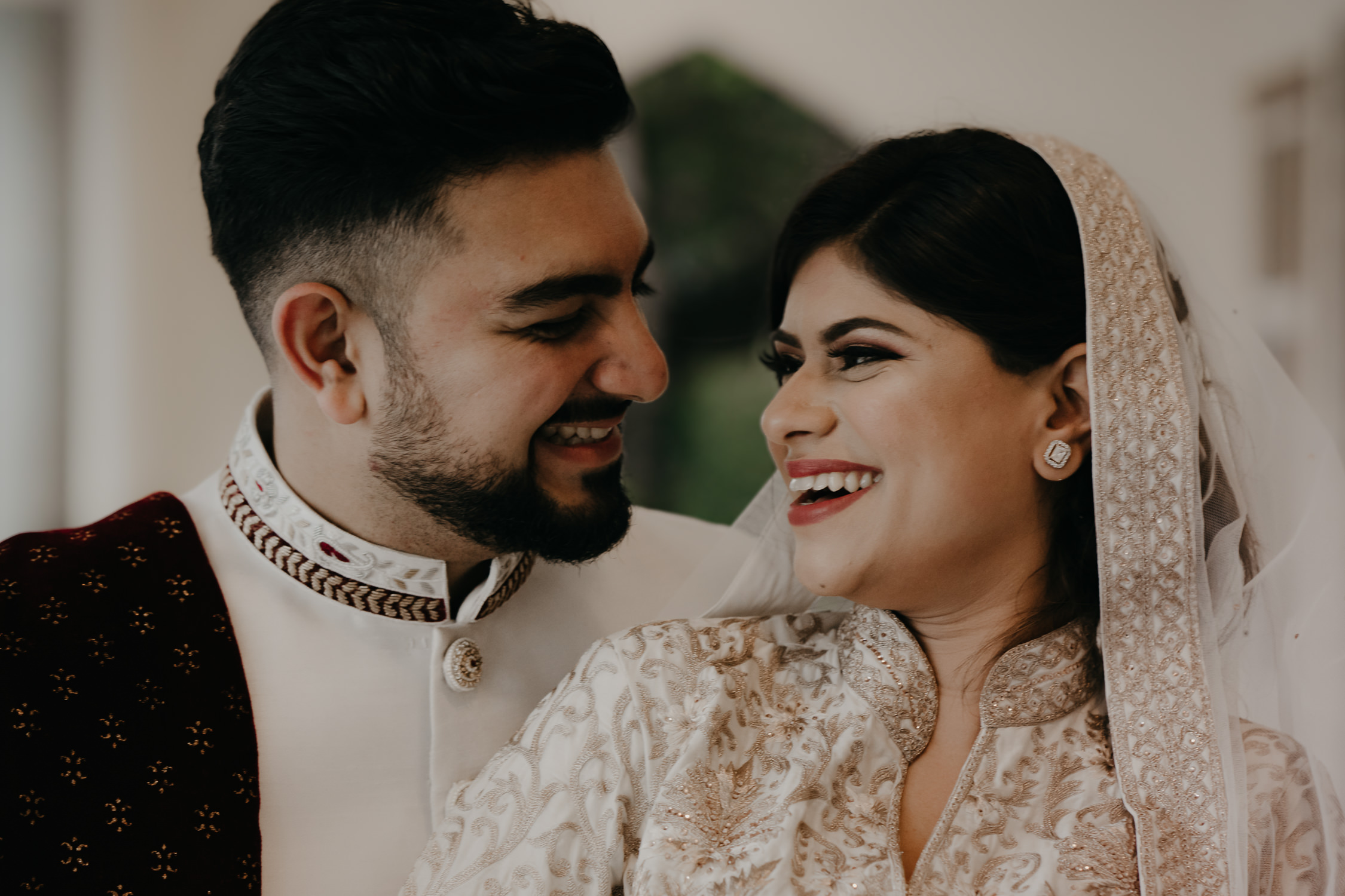 Bride and groom portraits indian wedding photography