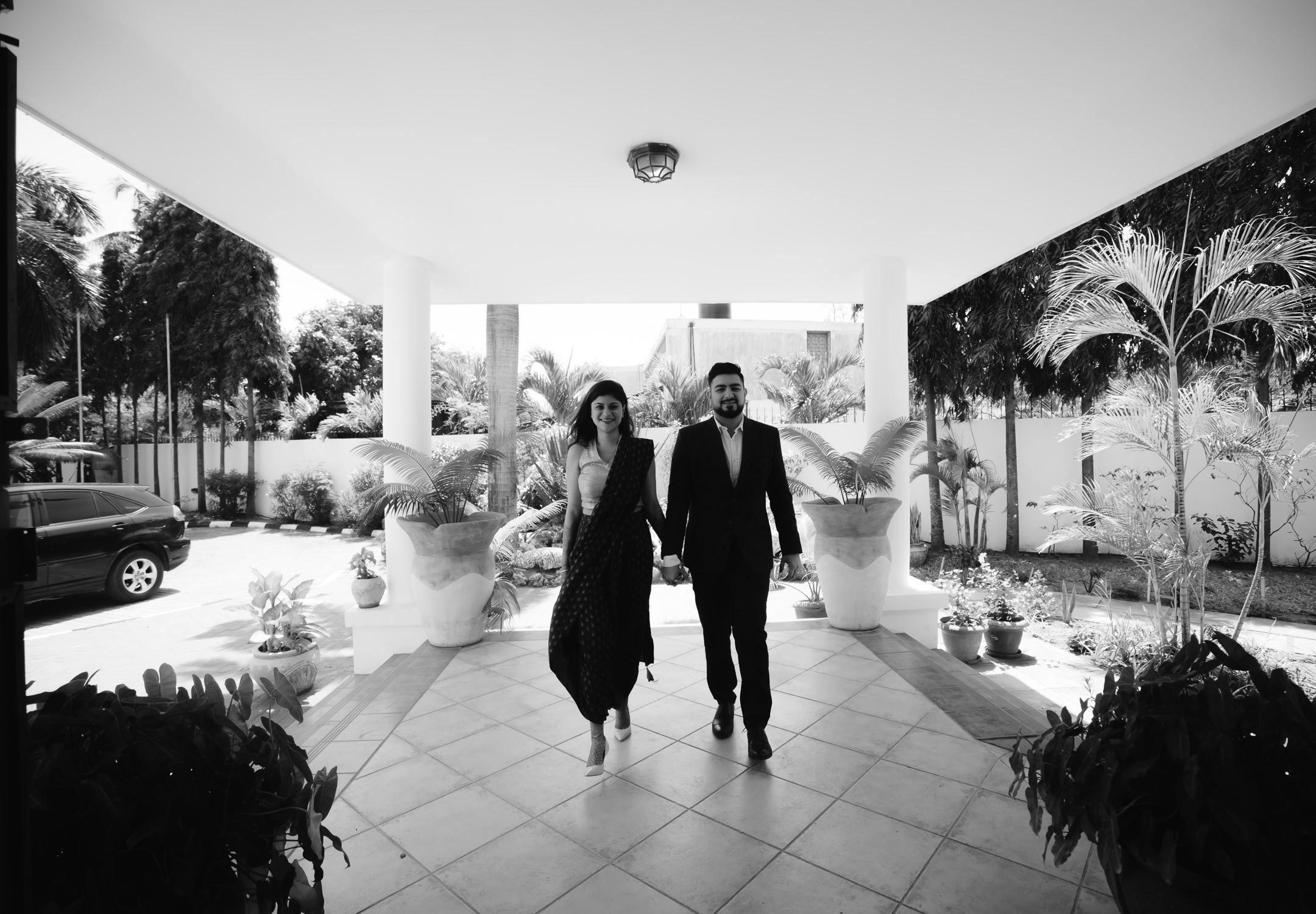 Bride and groom photo's tanzania destination wedding photography
