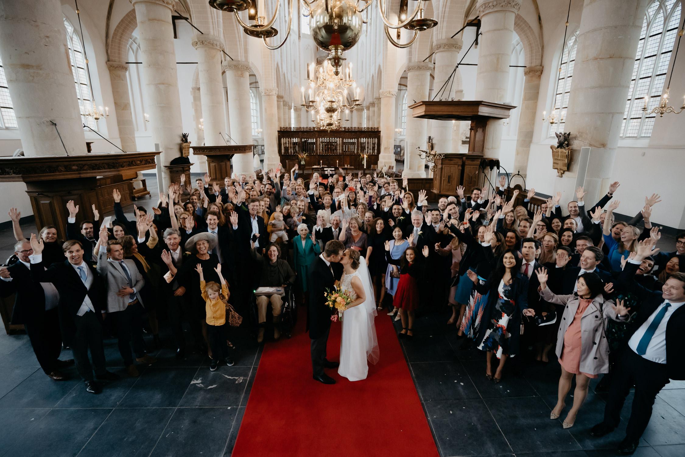 bruiloft foto raportage kerk amsterdam fotografie