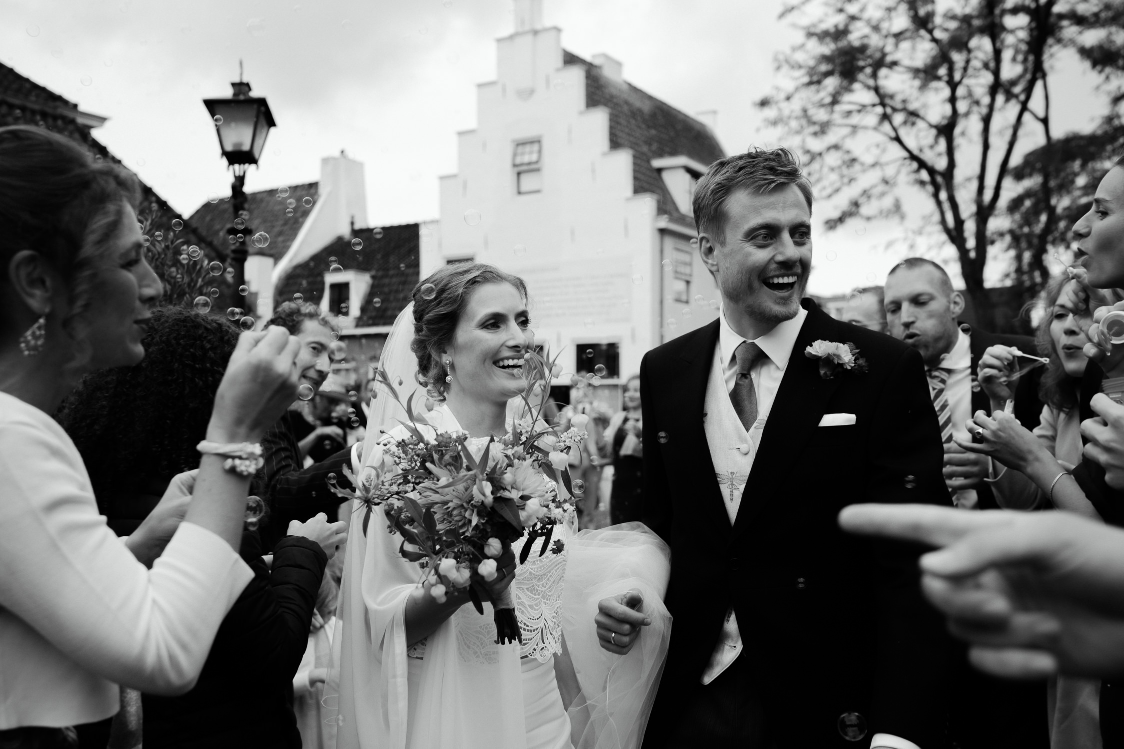 just married moment photography
