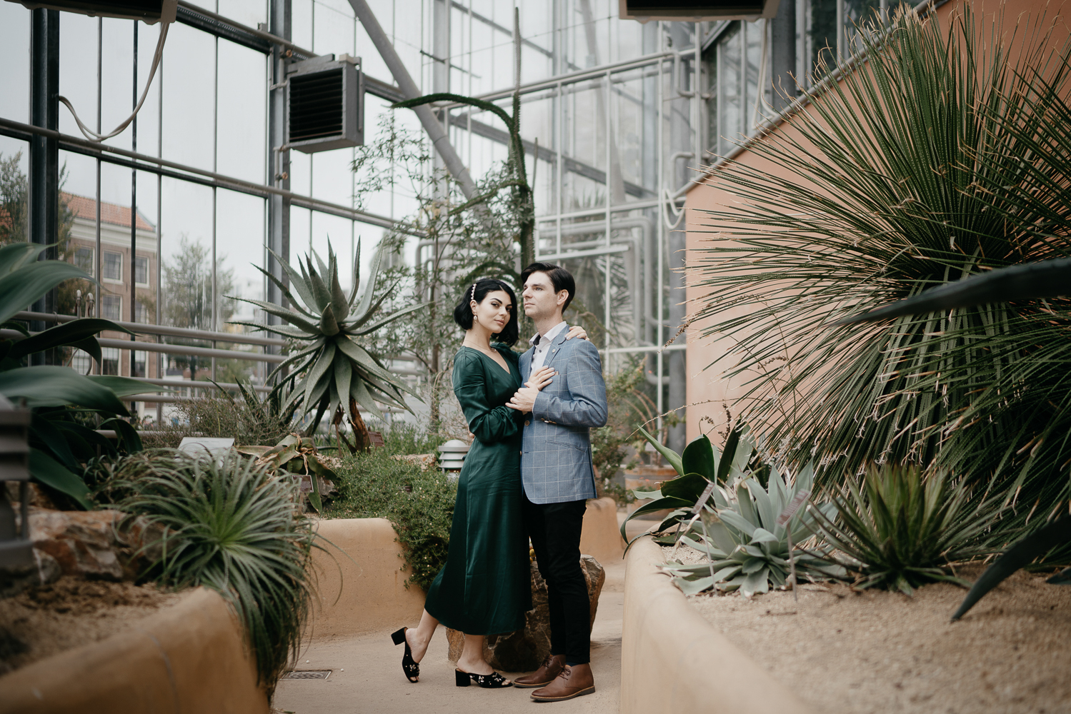 photoshoot botanical garden amsterdam couple photographer mark hadden