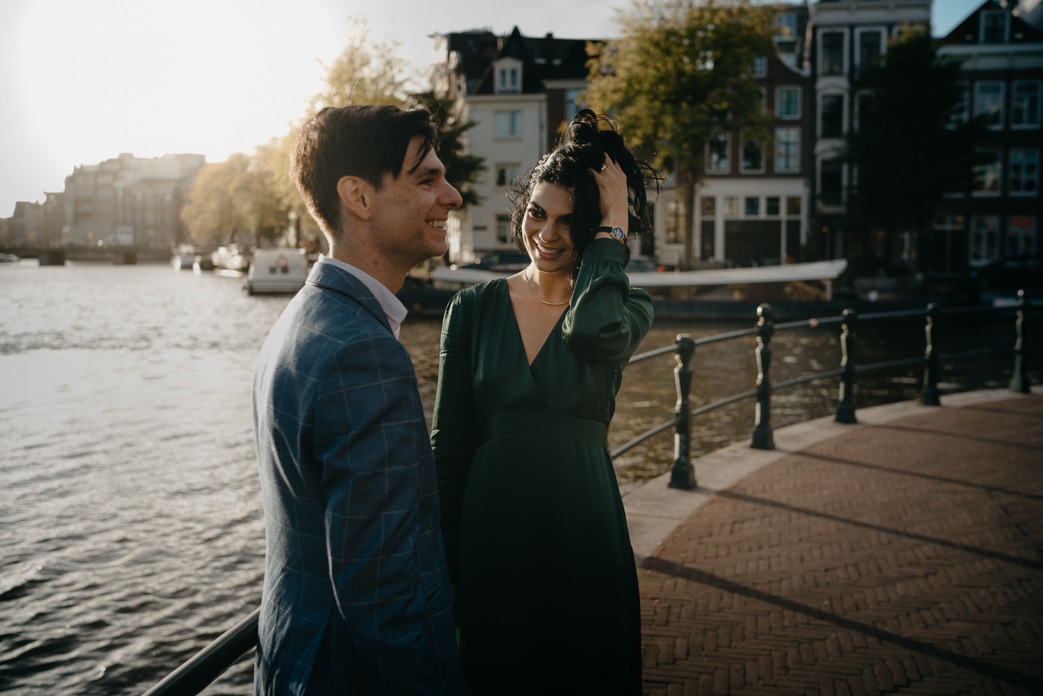 verlovings fotoshoot in amsterdam fotograaf mark hadden