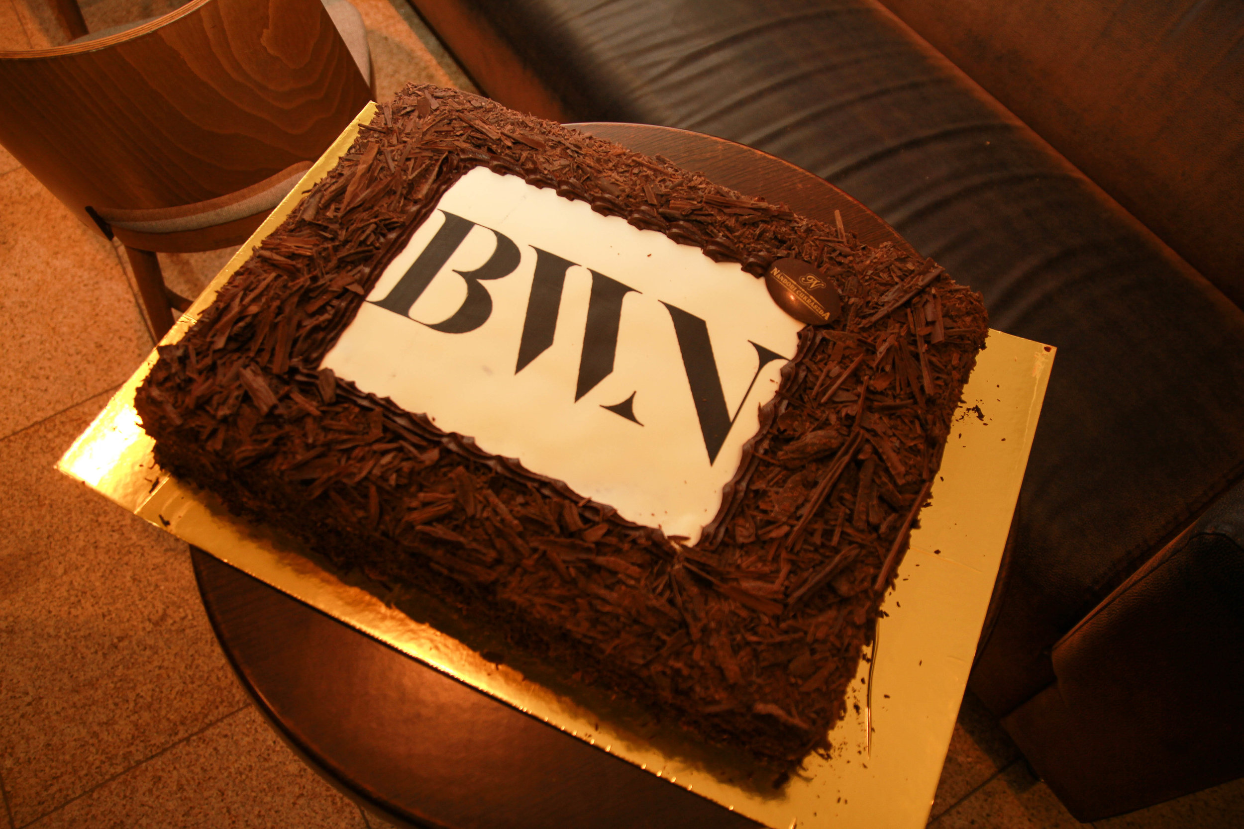 Y-mentoring rendezvény torta