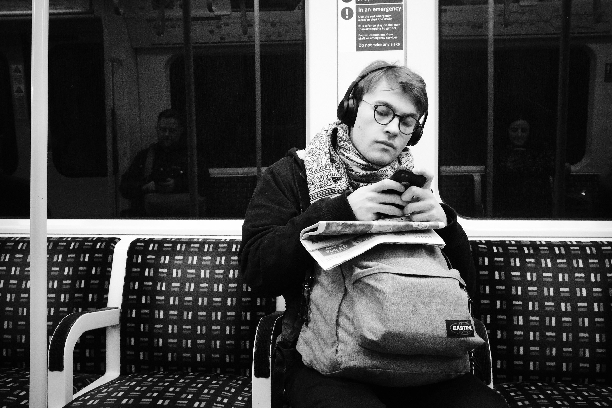 Scarf, Headphones and a Phone.jpg