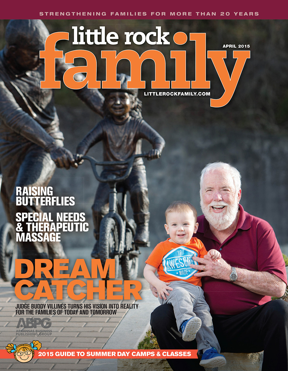 The April issue of LR Family