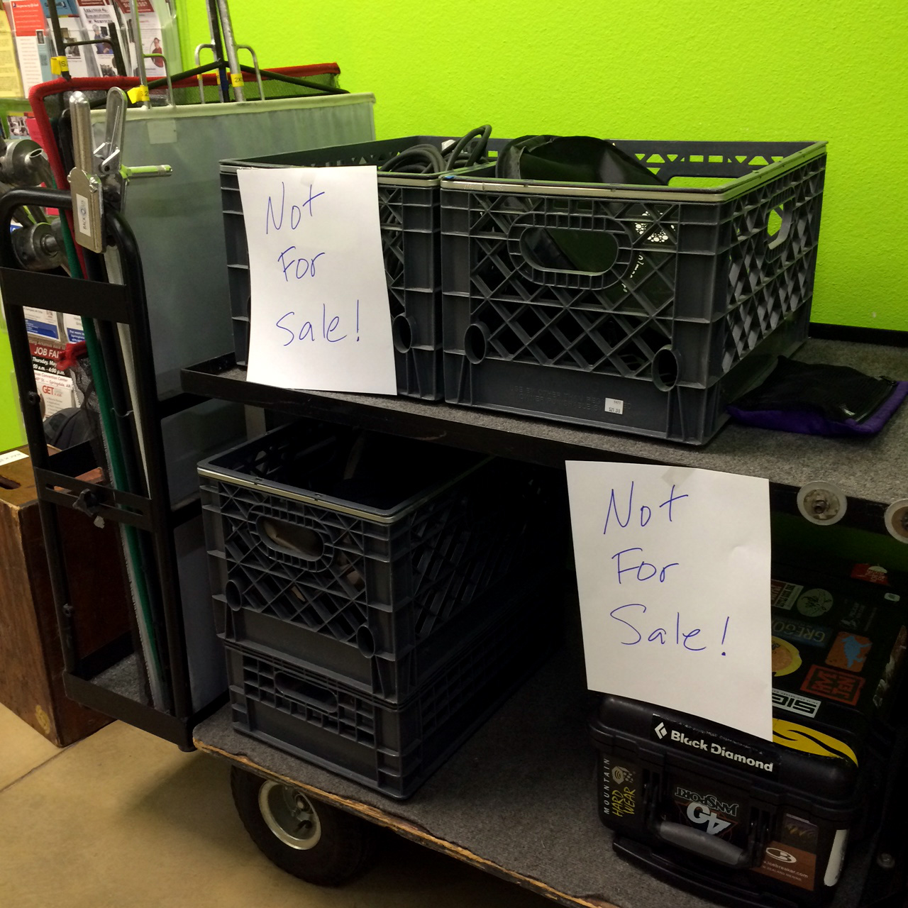 Production Carts are NOT FOR SALE!