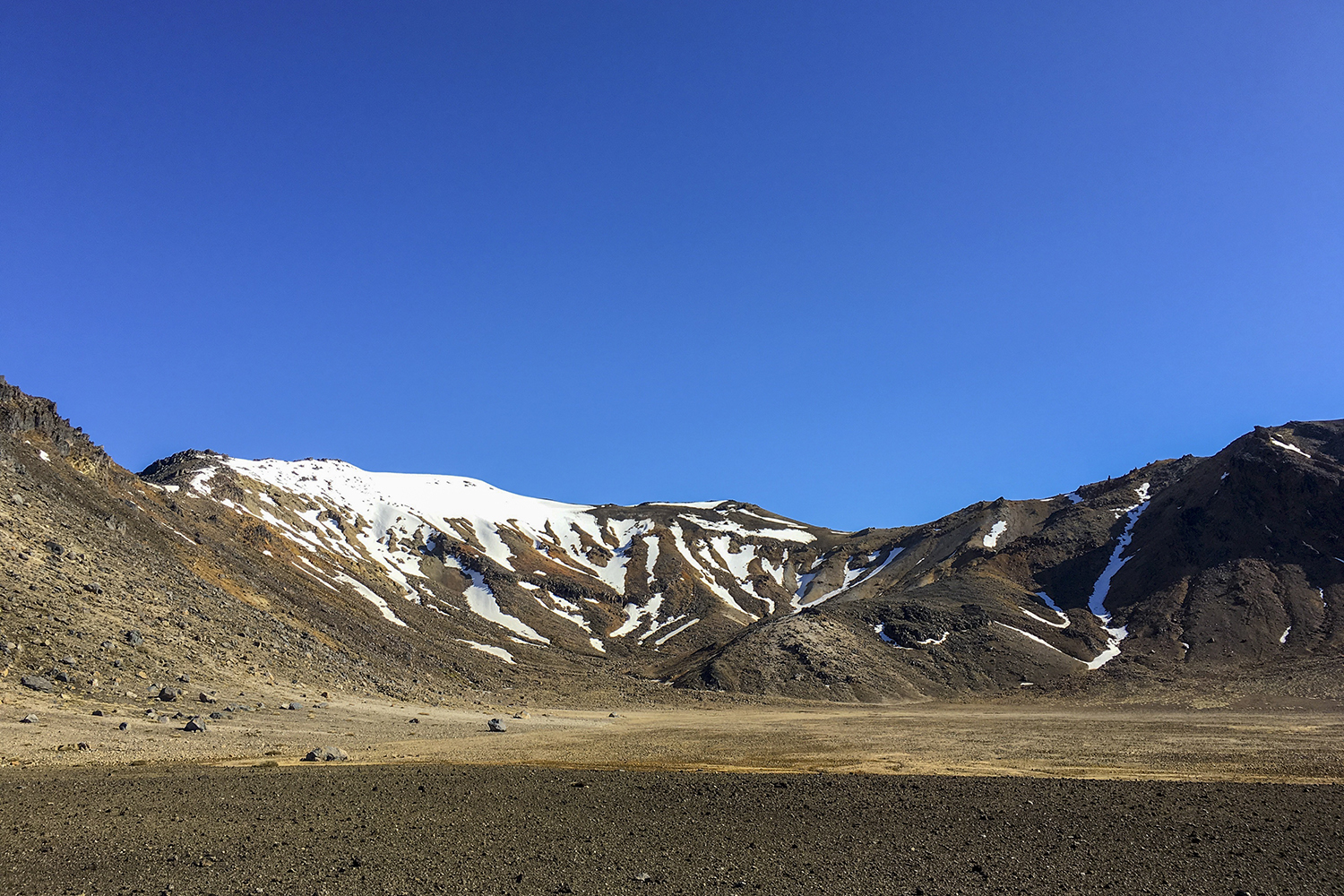 South Crater on the Alpine Crossing.