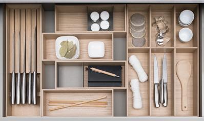 Système d'organisation intérieure MOVE pour tiroirs