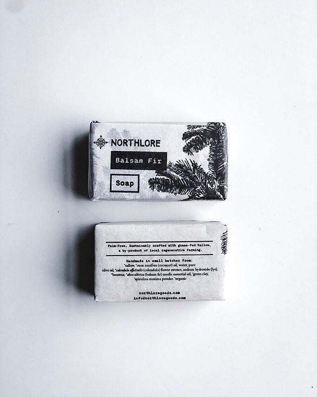 The Balsam Fir essential oil in our soap contains properties that relax aching muscles and tightness, circulate blood to keep your immune system healthy, and when inhaled can clear your breath to loosen a cough. Plants for the win.🌲🧼✨