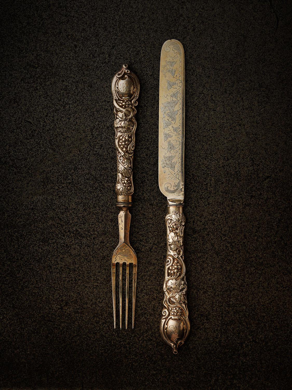 #13 Grape Knife & Fork