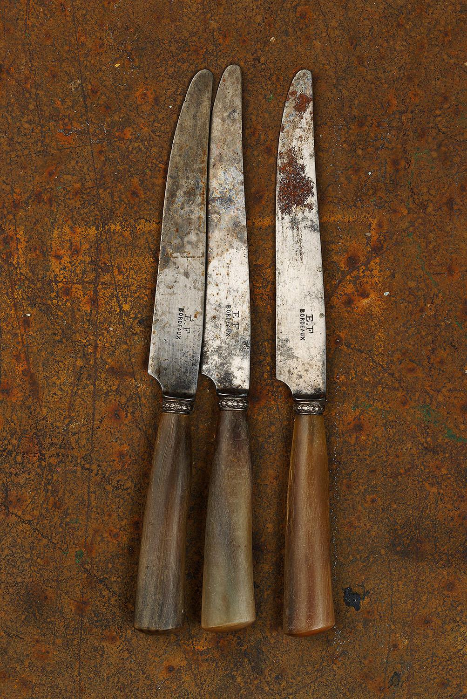 #32 Three Bordeaux Knives