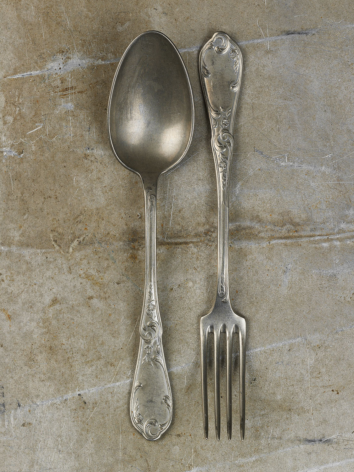 #54 French Spoon & Fork