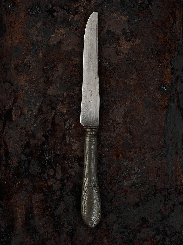 #51 Pewter Handle Knife