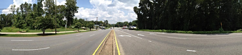 Wilkinson Boulevard at Catawba Street, looking east