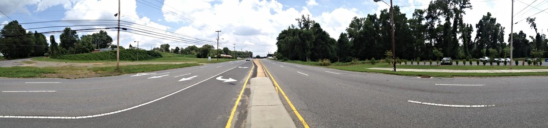 Wilkinson Boulevard at Browntown Road, looking east