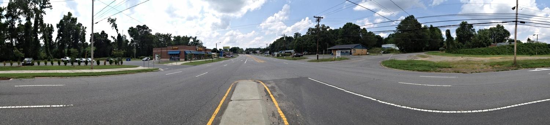 Wilkinson Boulevard at Browntown Road, looking west